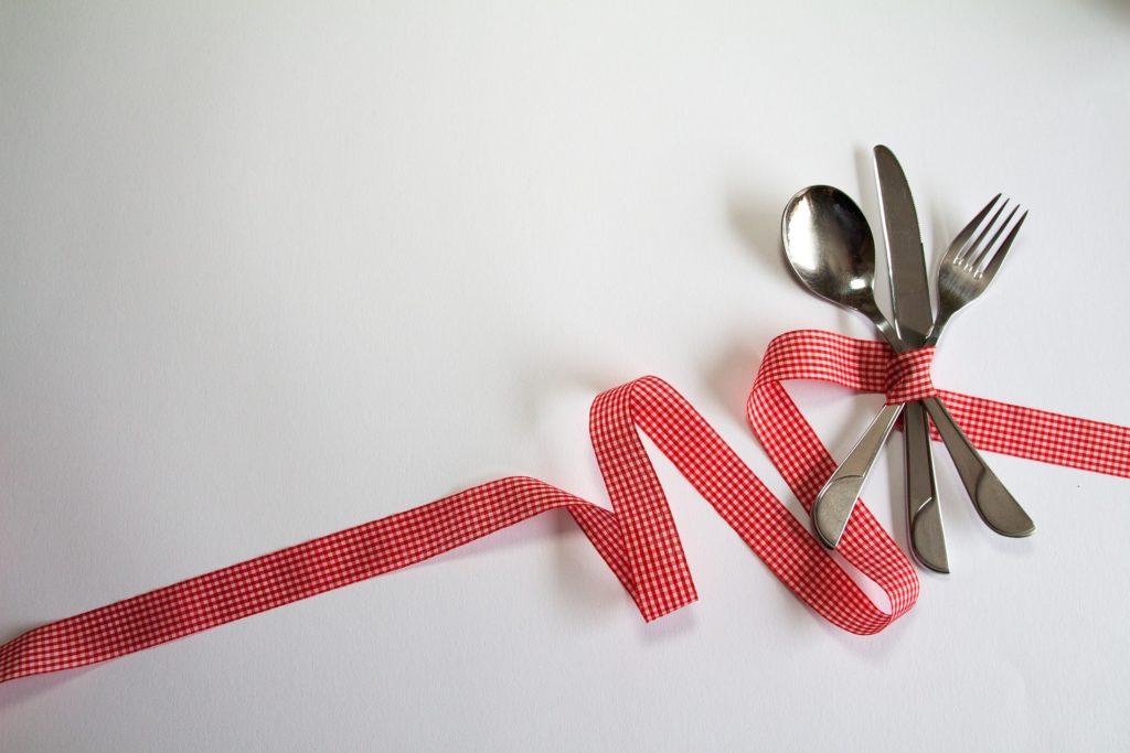 anorexie: couverts noués